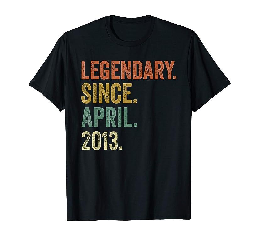 Vintage April 2013 Tshirt, 6th Birthday Boys Girls T-Shirt
