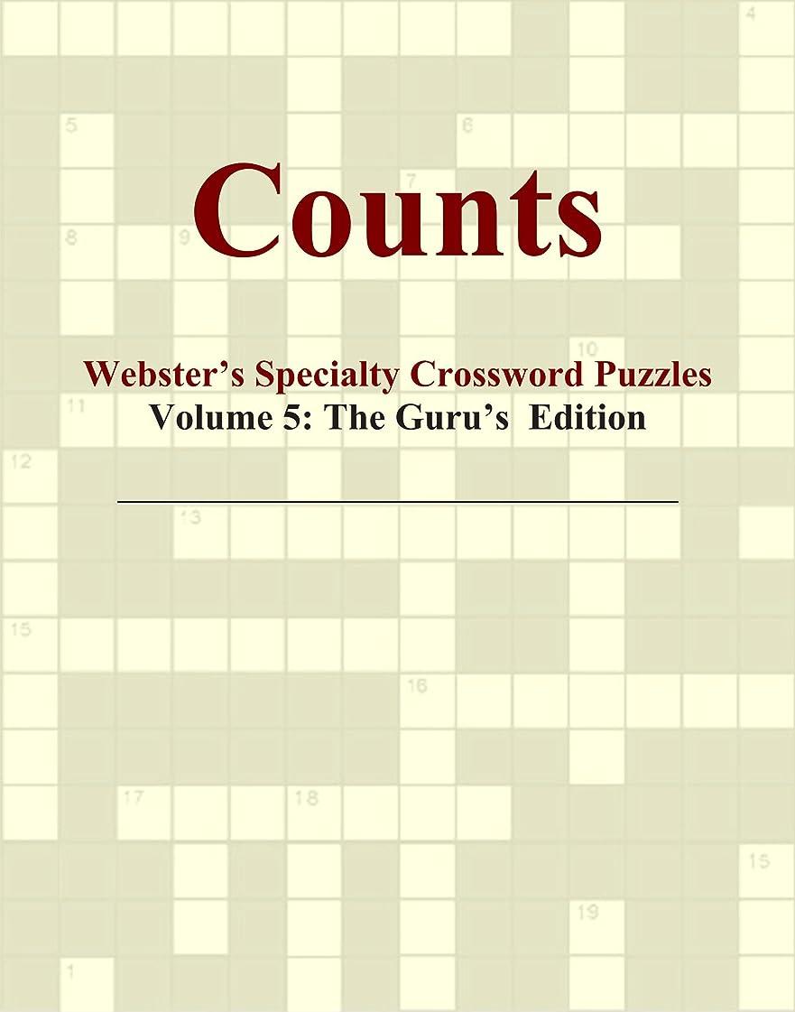 火曜日混合商標Counts - Webster's Specialty Crossword Puzzles, Volume 5: The Guru's Edition