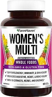 FarmHaven Multivitamin for Women | 22 Essential Nutrients, Fruits & Veggies Womens Multivitamin |...