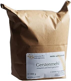 1,0 kg Gerstenmehl, vollkorn, frisch gemahlen