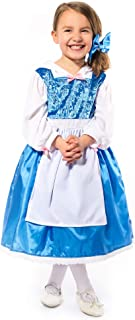 Little Adventures Beauty Day Dress with Bow Costume (Large Age 5-7)