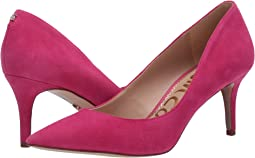 Guava Pink Suede Leather