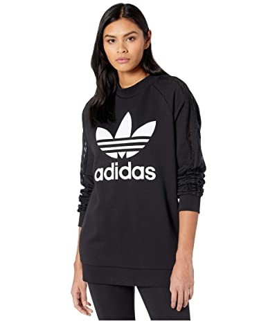 adidas Originals Bellista Lace Sweatshirt (Black) Women