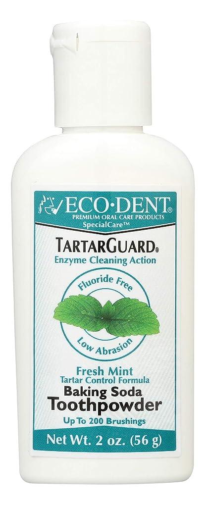 コメンテーター戻す楽観的海外直送品 Eco-Dent (formerly Merflaun) Toothpowder, Tartar Guard 2 Oz