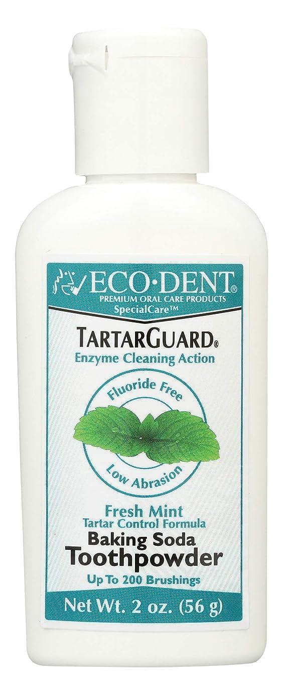 ロマンスポルティコキロメートル海外直送品 Eco-Dent (formerly Merflaun) Toothpowder, Tartar Guard 2 Oz
