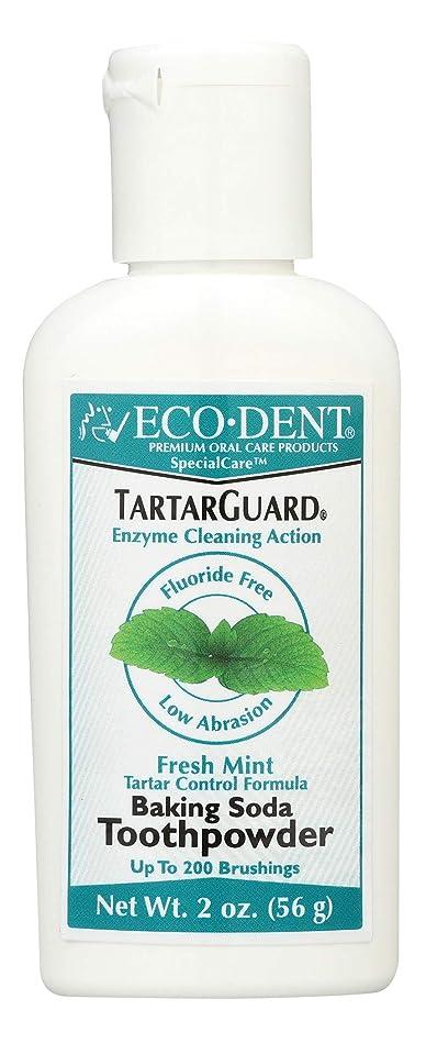 狂う力学遠洋の海外直送品 Eco-Dent (formerly Merflaun) Toothpowder, Tartar Guard 2 Oz