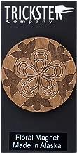 Trickster Company Northwest Coast Native Art Formline Refrigerator Magnets - Floral
