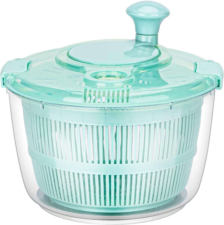 LIANGKEN Salad Spinner Large Lettuce El Paso Mall De Dry Dryer Finally popular brand Quick