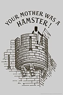 Your Mother was A Hamster! Humor Cool Wall Decor Art Print Poster 12x18