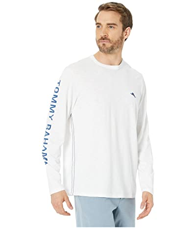 Tommy Bahama Independence Marlin Lux Tee (White) Men