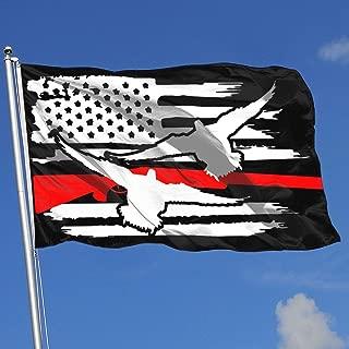 JBHANI American Flag Duck Drake Hunting Decoy Tea Flag 3x5-Flags 90x150CM-Banner 3'x5' FT