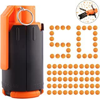 FenglinTech M67 Plastic Toy Grenade with Grenade Pouch Set Toy ...