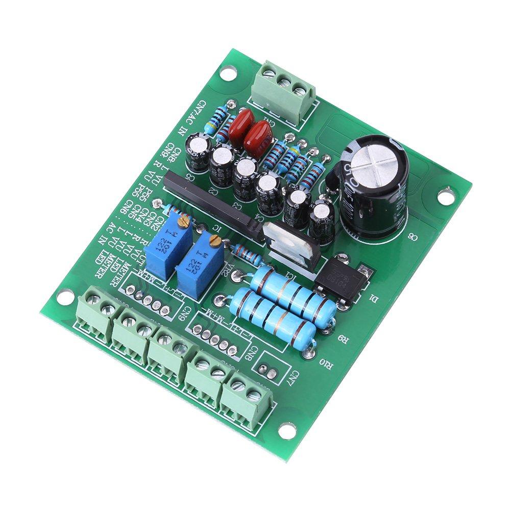 Medidores de prueba, Circuitos Junta 2 Piezas de Luz Trasera de Grabación de Plástico+Metal VU Panel Medidor para Conexiones de Reproductores de CD Informática Edificio Electrónica Proyectos