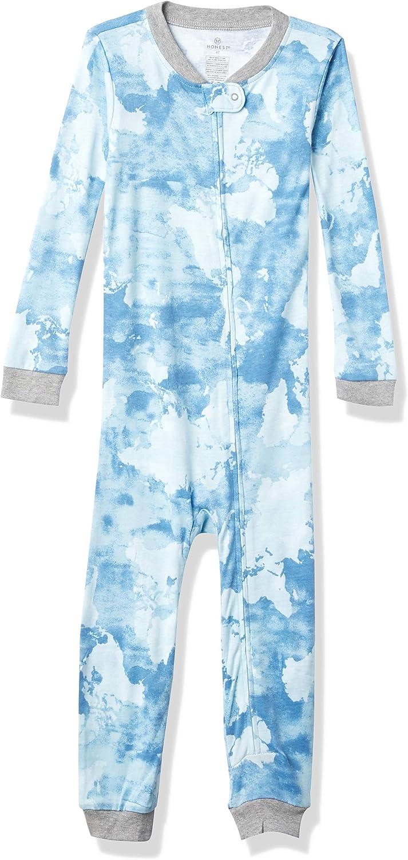 HonestBaby Baby Organic Cotton Snug Fit Footless Toddler Pajama