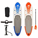 Pathfinder Inflatable SUP Stand Up Paddle Board, Complete KIT: Board, Fin, Pump, Paddle, Carry BagPathfinder Inflatable SUP Stand Up Paddle Board, ...
