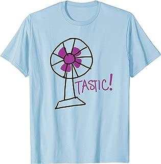 Fan-tastic pun T-shirt - fantastic tacky retro 80's shirt