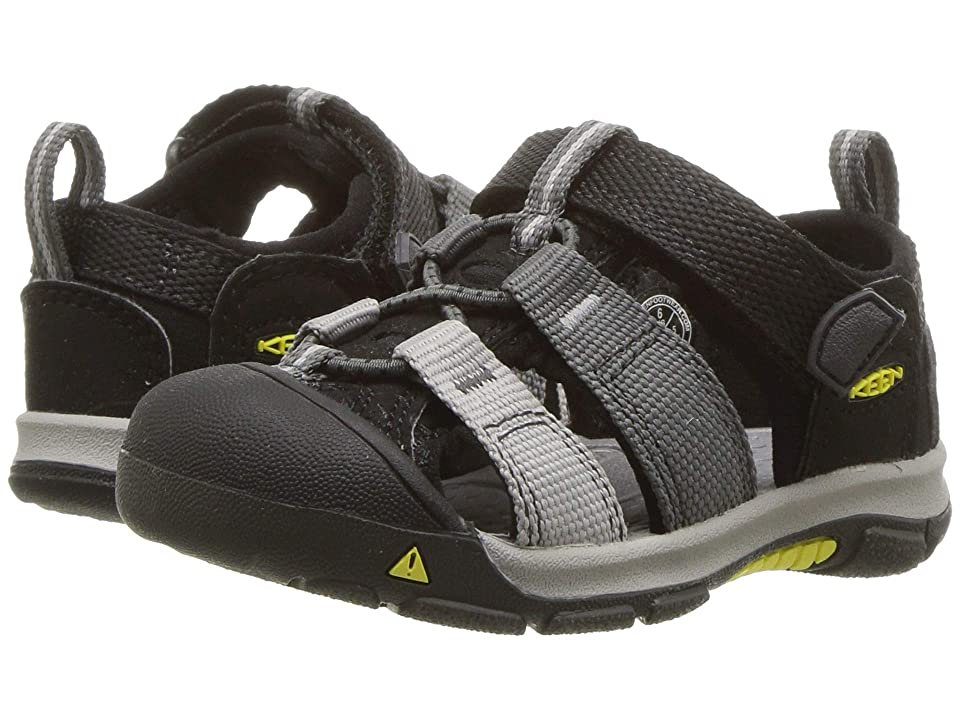Keen Kids Newport H2 (Toddler) (Black/Magnet) Kids Shoes