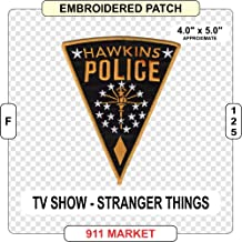 Stranger Things Hawkins Police Embroidered Patch TV Show Novelty - F 125