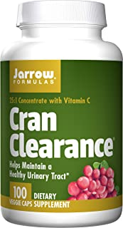 Jarrow Formulas Cran Clearance, Helps Maintain a Healthy Urinary Tract, 100 Caps