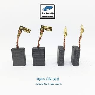 4pcs longlife CB318 Carbon Brush replacement for Makita CB318, CB325, CB340, CB336,191974-7,194074-2, 191978-9, 195396-3 (4 pcs/pack)