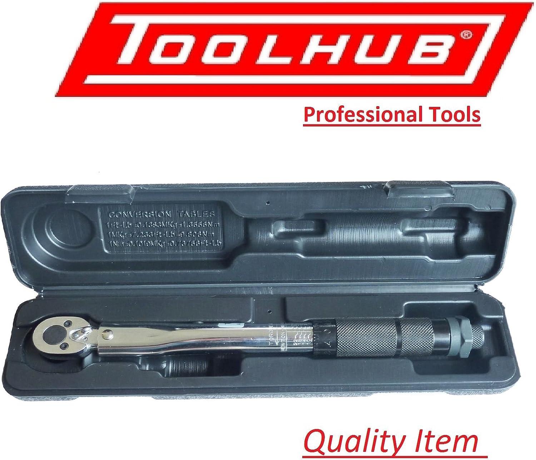 Tool Hub 1 4  Vierkantantrieb Vierkantantrieb Vierkantantrieb Drehmomentschlüssel Mikrometer 2-24Nm   18-212in.   Lb. Kalibrierzertifikat Ideal für Carbonräder,  professionelle Mechanik B00KCHUKA6 | Gemäßigten Kosten  acfdb3
