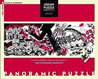 New York Puzzle Company - Penguin Random House Communist Manifesto - 1000 Piece Jigsaw Puzzle