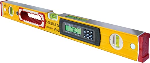 Stabila 36524 24-Inch Electronic Dust and Waterproof IP65 TECH Level with Case, Yellow