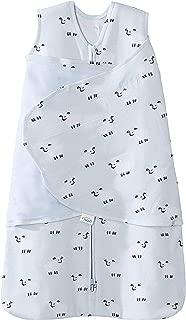 Halo 100% Cotton Sleepsack Swaddle Wearable Blanket, Aqua Sheep, Newborn
