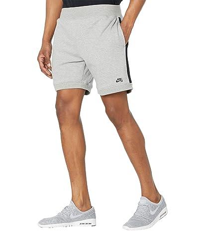 Nike SB SB Y2K Fleece Shorts (Dark Grey Heather/Black/Black) Men