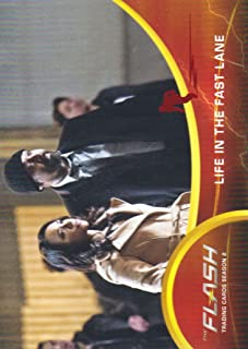 2017 The Flash Season 2 Trading Cards Scarlet Speedster Deco Foil #36 Life in the Fast Lane