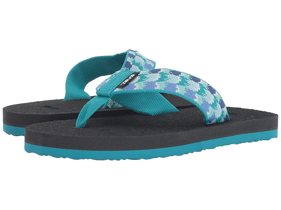 Teva Kids Mush II (Little Kid/Big Kid) (Rhia Aquamarine) Girls Shoes
