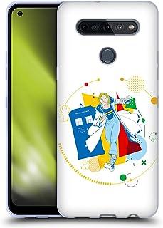 Head Case Designs Licenciado Oficialmente Doctor Who Arte Geométrico Jodie Gráficos de la Temporada 11 Carcasa de Gel de S...