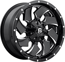 FUEL Cleaver NBL-Gloss BLK MIL Wheel with Painted (17 x 9. inches /6 x 135 mm, 1 mm Offset)
