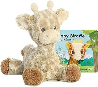 ebba Loppy Giraffe Plush with Rattle Gift Set…