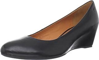 Geox mujer ODINA R - Zapatos de Vestir de Piel para Mujer Negro Negro