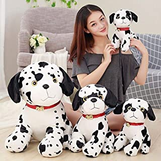 Plush Toy Cute Spotted Dog Push Toy Simulation Dalmatian Soft Stuffed Animals Doll Gift Stuffed Animals Plush Toys For Chi...