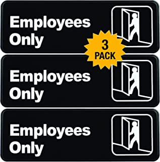 Best employee only restroom signs Reviews