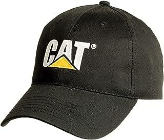 Cat Black Cap with 2 Tone Logo