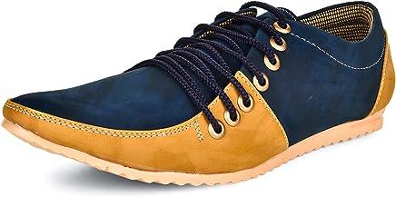 ESENSE Men's Synthetic Lace-up Casual Shoes