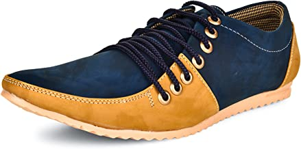 ESENSE Men's Synthetic Lace-up Casual Shoes