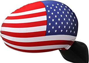 Giftomania American Flag Universal Car Side view Mirror Covers - 2 pack (4 covers)