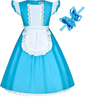 Princess Cinderella Rapunzel Ariel Elsa Anna Snow White Belle Aurora Sofia Alice Dress Costume for Baby Toddler Girls