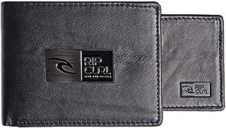 Rip Curl Men's STACKAWATU RFID 2 IN 1 Wallets, Black, One Size