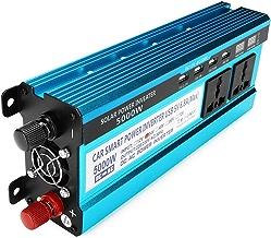 DyNamic 5000W Pico De Energía Solar Inversor De Doble LED Pantallas 12V/24V DC A 220V AC Convertidor De Onda Sinusoidal Modificada - Dc24V