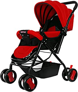 BABY PLUS Baby plus stylish Stroller cum pram, Pack of 1