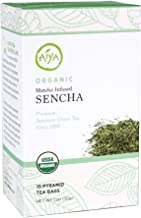 Aiya Organic Matcha-Infused Sencha Green Tea - Tea Taster's Line, 15 pyramid bags