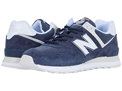 New Balance Classics ML574v2 (Navy/White) Men