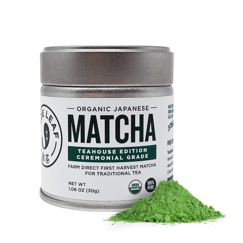 Jade Leaf Organic Ceremonial Grade Matcha - Brand Max 56% OFF new Tea Aut Green Powder