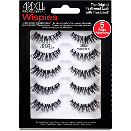 Ardell Multipack Demi Wispies False Lashes 5 Pairs x 1 pack