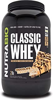 NutraBio Classic Whey Chocolate - Peanut Butter Bliss Dairy (2 lb.)